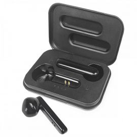 In-Ear True Wireless Headset 'Sona' inkl. Ladeetui, Schwarz